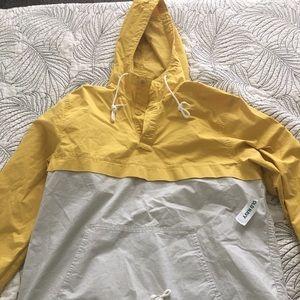 Men's Yellow Anorak Jacket